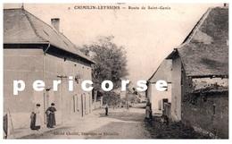 38  Chimilin Leyssins  Route De Saint Genix - Francia