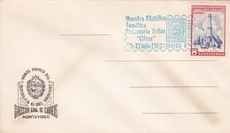 1966 COVER FDC URUGUAY - MUESTRA FILATELICA TEMAMTICA SELLOS CIFRAS - BLEUP - Uruguay