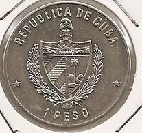 CUBA 1 PESO MINTAGE 5 000 RARE XIV Central American And Caribbean Game UNC RARE - Cuba