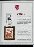 Feuillet Or Du N° 1950  CINEY    Obl. Ciney 20/10/79 - FDC
