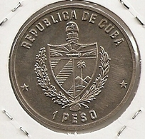 CUBA 1 PESO MINTAGE 5 000 RARE  70th Anniversary Of Bolshevik Revolution UNC RARE 22 - Cuba