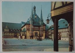 Wernigerode (Harz) - Rathaus  - Nv DDR G2 - Wernigerode