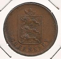 GUERNESEY 4 DOUBLES 1830 UNC??? RARE ETAT 25 - Guernsey