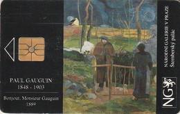 REPUBLICA CHECA. National Gallery - Paul Gauguin. C65A, 61/06.94. (143) - República Checa
