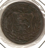 GUERNESEY 48DOUBLES 1886 RARE 28 MINTAGE 222 000 - Guernesey