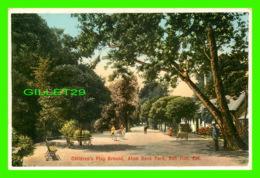 SAN JOSE, CA - CHILDREN'S PLAY GROUND, ALUM ROCK PARK - ANIMATED - M. RIEDER. PUB - - San Jose
