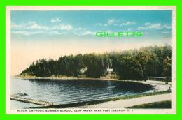 CLIFF HAVEN, NY - BEACH CATHOLIC SUMMER SCHOOL- - NY - New York