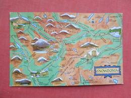 Map Snowdonia    Ref 3428 - Reino Unido
