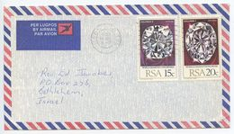 South Africa 1980 Airmail Cover Warabad To Bethlehem Israel, Scott 535 Diamond - Covers & Documents