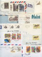 South Africa 1980's-2000's 13 Covers, Mix Of Stamps & Postmarks - Covers & Documents