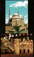 2 X Cairo / Kairo  -  The Mohamed Aly Mosque  -  Außen Und Innen  -  Ansichtskarten Ca. 1980   (11173) - Kairo