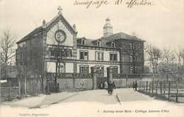 "/ CPA FRANCE 93 ""Aulnay Sous Bois, Collège Jeanne D'Arc"" - Aulnay Sous Bois"