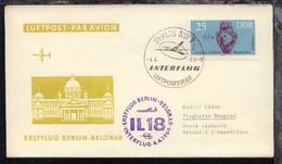 Interflug-Erstflug-Bf. Berlin-Belgrad 4.4.1964 - Ohne Zuordnung