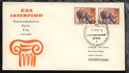 Interflug/CSA-Erstflug-Bf. Berlin-Larnaka 6.6.1976 - Ohne Zuordnung
