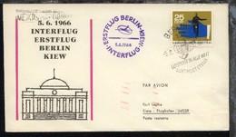 Interflug-Erstflug-Bf. Berlin-Kiew 5.6.1966 - Ohne Zuordnung