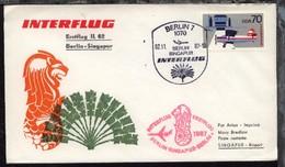 Interflug-Erstflug-Bf. Berlin-Singapur 2.11.87 - Ohne Zuordnung