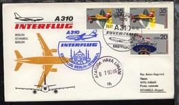 Interflug-Erstflug-Bf. Berlin-Istanbui 6.7.1990 - Ohne Zuordnung