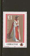 GIBRALTAR, 1986 QUEENS BIRTHDAY 1 MNH - Gibraltar