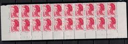 FRANCE      N° YVERT  :   2274 X 20   NEUF   BAS DE FEUILLE  Coin Daté  16/01/84     N°   19375-1   RGR-1 - 1982-90 Liberty Of Gandon