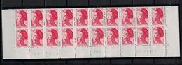 FRANCE      N° YVERT  :   2274 X 20   NEUF   BAS DE FEUILLE  Coin Daté  16/01/84     N°   19376 -1   RGR-1 - 1982-90 Liberty Of Gandon