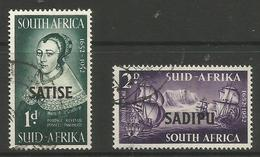 South Africa - 1952 Cape Town Stamp Exhibition Used  SG 141-2 - Used Stamps
