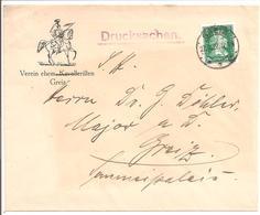 Briefumschlag Verein Ehem.Kavalleristen Greiz - Deutschland