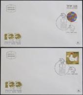 ISRAEL 1974 Mi-Nr. 619/20 FDC - FDC