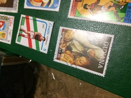 GUYANA IL NATALE - Postzegels