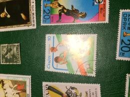 CUBA SPORT CALCIO - Postzegels