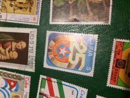 CUBA RIVOLUZIONE 25 ANNI - Postzegels