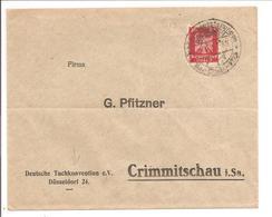 SStpl Düsseldorf S27 Deutsche Kunst. Umschlag Deutsche Tuchkonvention - Deutschland