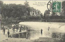 9154 - CPA Troyes - Déversoir De La Seine à Verrières - L'Heure Du Bain - Troyes