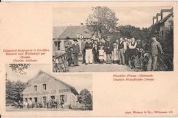 MONTREUX-CARTE A 2 VUES - Douane