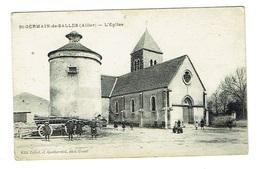 ALLIER 03 SAINT GERMAIN DE SALLE L'église - France