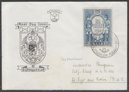 SARRE:  N°321 Sur FDC Du 3/5/1953 ! - FDC