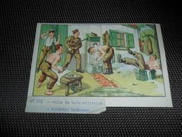 Humor ( 108 ) Militair   Humour Militaire  - Pas Une Carte Postale , Mais Un Papier - Humoristiques