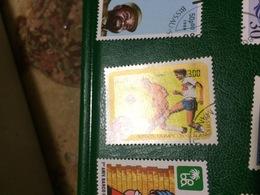 SPORT OLIMPIADI 1984 IL CALCIO - Postzegels