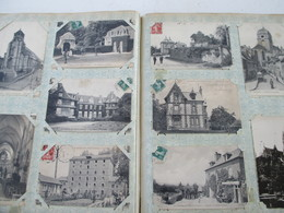 Ancien Album De 400 Cartes Postales De Normandie - Postales