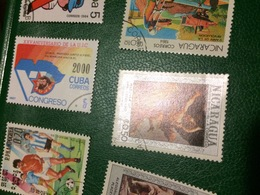 NICARAGUA ARTE - Postzegels