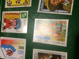 NICARAGUA 5 ANNIVERSARIO RIVOLUZIONE - Postzegels