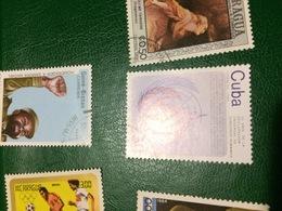CUBA LE NAZIONI UNITE - Postzegels