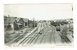 CHER 18 BOURGES Intérieur De La Gare - Bourges