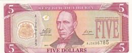 Liberia - Billet De 5 Dollars - E.J. Roye - 2011 - Neuf - Liberia