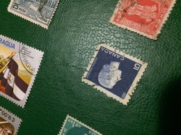 CANADA REGINA BLU - Postzegels