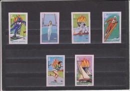 Togo Nº Michel 1380B Al 1385B - Inverno1980: Lake Placid