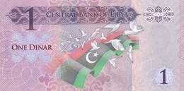 Libye - Billet De 1 Dinar - Non Daté - Neuf - Libyen
