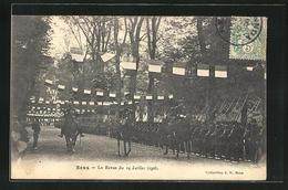 CPA Sens, La Revue Du 14 Juillet 1906 - Sens