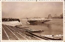 Aviation, Hydravion Short, Sur La Saone A Macon     (bon Etat)  Dim: 14 X 9. - Luftfahrt