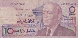 Maroc - Billet De 10 Dirhams - 1987 - Hassan II - Marruecos