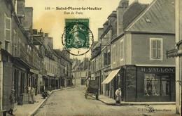 58 - SAINT PIERRE LE MOUTIER-RUE DE PARIS  / A 470 - Saint Pierre Le Moutier